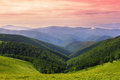 Carpathians ridges Royalty Free Stock Photos