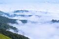 Carpathians ridges Royalty Free Stock Photo