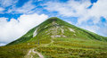 Carpathians summer in the mountains Stock Photography