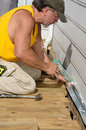 Carpenter Caulking Stock Photos