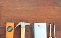 Carpenter tool Royalty Free Stock Photo