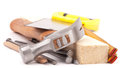 Carpenter  tools Stock Photography