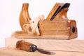 Carpenters tools Royalty Free Stock Photo