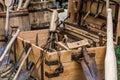 Carpenters vintage  tools Royalty Free Stock Photo