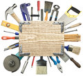 Carpentry background Stock Photo