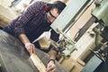 Carpentry workshop Royalty Free Stock Photo