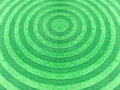Carpet circle line green background texture Stock Photography