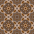 Carpet like seamless pattern Stock Images