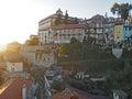 Carpet of Morning Glories, Porto, Portugal Royalty Free Stock Photo