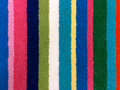 Carpet samples of colorful for backgrounds or textures Royalty Free Stock Photo