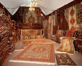Carpet shop Royalty Free Stock Image