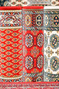 Carpets red Royaltyfri Bild