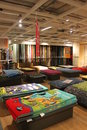 Carpets store in ikea supermarket bucharest romania Royalty Free Stock Photos