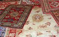 Carpets of various forms Royalty Free Stock Image
