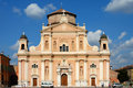 Carpi, the cathedral dome Stock Photo