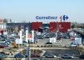 Carrefour Royalty Free Stock Photos