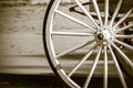 Carriage wheel Royalty Free Stock Photo