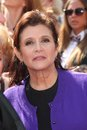 Carrie fisher Fotografia Royalty Free