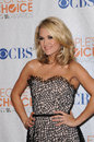 Carrie underwood at the people s choice awards press room nokia theater l a live los angeles ca Stock Photo