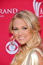 Carrie underwood at the st annual academy of country music awards mgm grand las vegas nv Stock Image