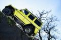 Carro g x da mostra de mercedes benz tv expecting the new exposição automóvel geneve Foto de Stock Royalty Free