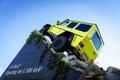 Carro g x da mostra de mercedes benz tv expecting the new exposição automóvel geneve Foto de Stock