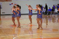 Carroll University NCAA Dance Team Royalty Free Stock Image