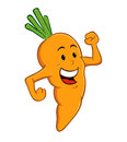 Carrot Cartoon Character