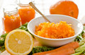 Carrot citrus jam Royalty Free Stock Photo