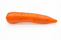 Carrot root isolated on white background Stock Photography
