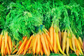 Carrot for sale at market Stock Images
