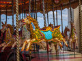 Carrousel horse Royalty Free Stock Images