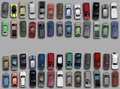Cars from above Royalty Free Stock Photo