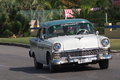 Cars of cuba restored s chevrolet on the on the streets playa del este Royalty Free Stock Images