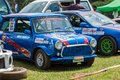 Cars powerhorn ponsed minicooper geting redy to rice in foxhill diyathalawa srilanka on Royalty Free Stock Images