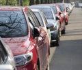Cars At Roadside