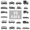 Cars set icons for you design Royalty Free Stock Photo