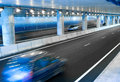Cars in a Tunnel Royalty Free Stock Photo