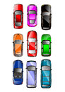 Cars vector Royalty Free Stock Photo