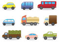 Cars vector set for you design Royalty Free Stock Photos
