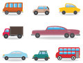 Cars vector set for you design Stock Photo