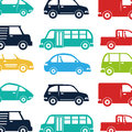 Cars vehicles pattern isolated icon