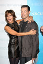 Carson Daly, Lisa Rinna Royalty Free Stock Image