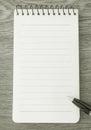 Carta per appunti di b w Fotografia Stock Libera da Diritti
