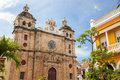 Cartagena colombia church of st peter claver in Royalty Free Stock Photography