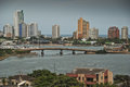 Cartagena colombia urban view of city Royalty Free Stock Photo