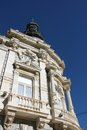 Cartagena spain ayuntamiento palacio consistorial beautiful landmark and blue sky Stock Images