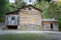 Carter Shields Cabin in Cades Cove Great Smoky Mountains National Park Tennessee. Royalty Free Stock Photo