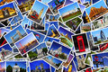 Cartes postales de londres Photographie stock