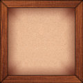 Carton background in wooden frame Royalty Free Stock Photos